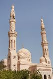 Jumeirah清真寺,迪拜 免版税图库摄影