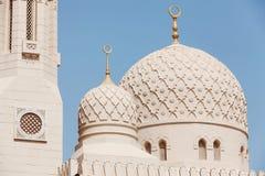 Jumeirah清真寺,迪拜 库存照片