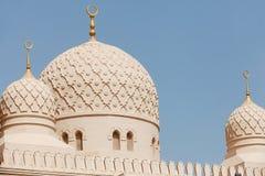 Jumeirah清真寺,迪拜 图库摄影