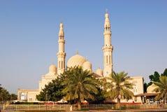 jumeirah清真寺 免版税库存照片