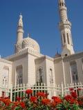 jumeirah μουσουλμανικό τέμενος Στοκ Εικόνες