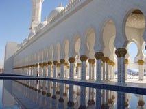 jumeirah μουσουλμανικό τέμενος Στοκ φωτογραφία με δικαίωμα ελεύθερης χρήσης