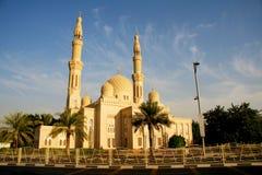 jumeirah μουσουλμανικό τέμενο&sig Στοκ φωτογραφία με δικαίωμα ελεύθερης χρήσης