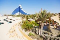jumeirah гостиницы Дубай пляжа Стоковое Изображение