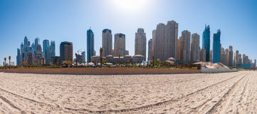Jumeirah beach Royalty Free Stock Photos