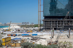 Jumeirah beach develpment in Dubai, UAE Stock Images
