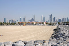 Jumeirah Beach in Dubai Stock Image