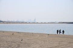 Jumeirah Beach in Dubai Stock Photography