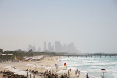 Jumeirah beach, Dubai Stock Images