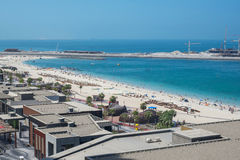 Jumeirah beach in Dubai, UAE Royalty Free Stock Photo