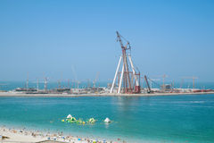 Jumeirah beach in Dubai, UAE Royalty Free Stock Photography