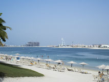 Jumeirah Beach, Dubai stock photography