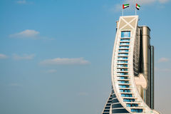 Jumeirah Beach Hotel Royalty Free Stock Photography