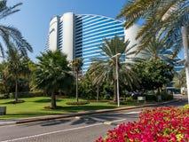 Jumeirah Beach Hotel in Dubai Royalty Free Stock Image