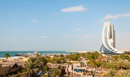Jumeirah Beach Hotel Stock Images