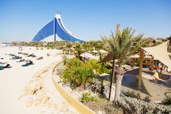 Jumeirah Beach hotel, Dubai Stock Image