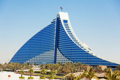 Jumeirah Beach hotel, Dubai Stock Images