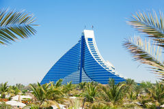 Jumeirah Beach hotel, Dubai Royalty Free Stock Images