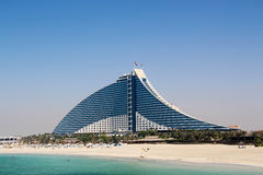 Jumeirah Beach Hotel, Dubei Stock Photography
