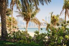 Jumeirah Beach Park Stock Image