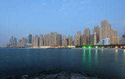 Jumeirah Beach Residence, Dubai Stock Image
