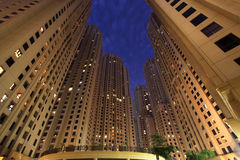 Jumeirah Beach Residence, Dubai Stock Photo
