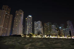 Jumeirah Beach Residence in Dubai Royalty Free Stock Photography