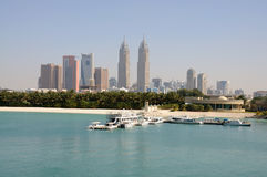 Jumeirah Coast, Dubai Royalty Free Stock Photography