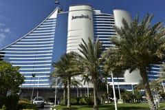 Jumeirah hotell, Dubai, UAE Royaltyfri Foto