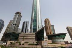 Jumeirah Lake Towers in Dubai Stock Image