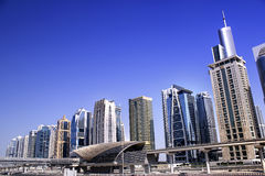 Jumeirah lake towers, dubai Stock Images