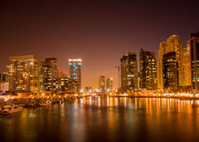 Jumeirah Lake Towers Stock Image
