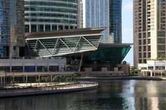 Jumeirah Lakes Towers in Dubai Stock Image