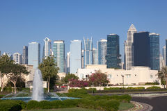 Jumeirah Lakes Towers, Dubai Stock Photo