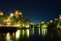 jumeirah madinat 免版税图库摄影