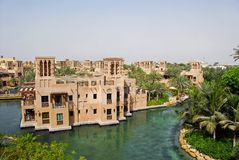 jumeirah madinat mina salam στοκ εικόνες