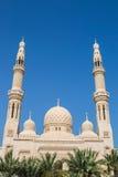 Jumeirah meczet Dubaj Zdjęcia Royalty Free