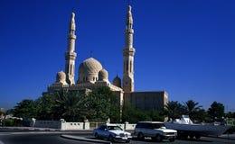 Jumeirah Moschee, Dubai Lizenzfreie Stockfotos