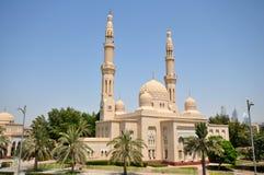 Jumeirah moské i Dubai Fotografering för Bildbyråer