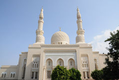 Jumeirah Mosque in Dubai Royalty Free Stock Photos