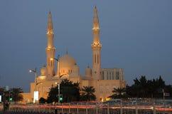 Jumeirah Mosque in Dubai stock image