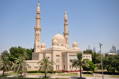 Jumeirah Mosque in Dubai Stock Photos
