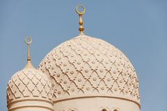 Jumeirah Mosque, Dubai Royalty Free Stock Image