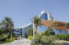 Jumeirah plaży hotel obraz stock