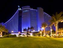 Jumeirah plaży hotel, Dubaj fotografia royalty free