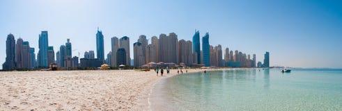Jumeirah plaża Zdjęcia Royalty Free