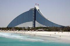 Jumeirah Strand-Hotel lizenzfreies stockbild