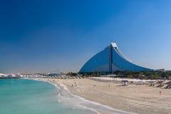 Jumeirah-Strand-Hotel Dubai Stockbilder