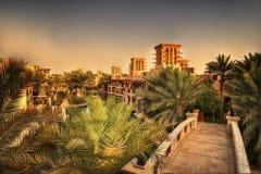 Jumeirah UAE de Dubai imagenes de archivo