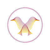 Jumelle des oiseaux Image libre de droits
